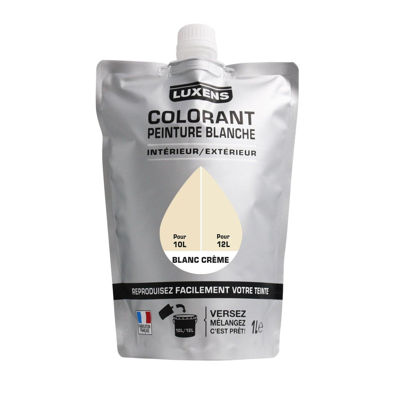 Acrylique Peinture Crème Blanc 1000 Spécial Ml Luxens Colorant QrthCxodsB