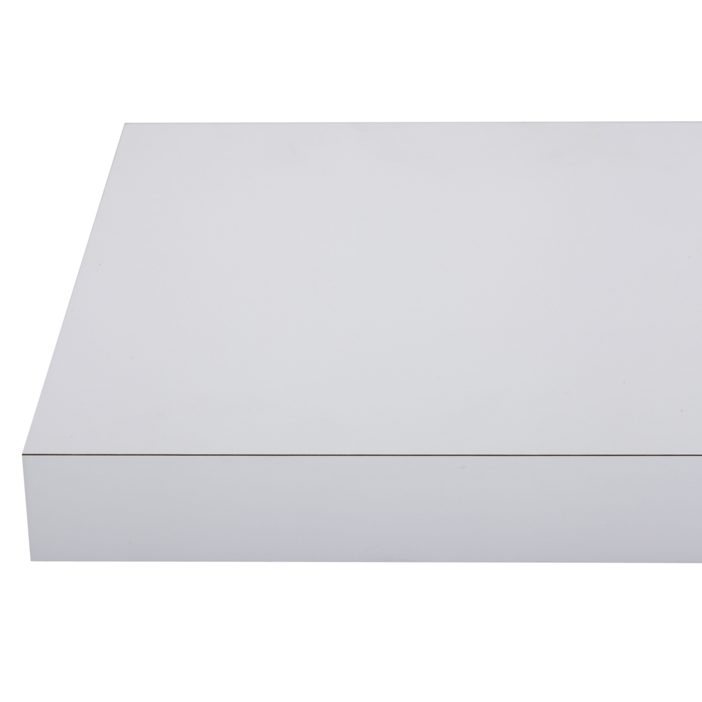 Plan de travail stratifié Mat edition blanc Mat L.315 x P.65 cm, Ep.38 mm