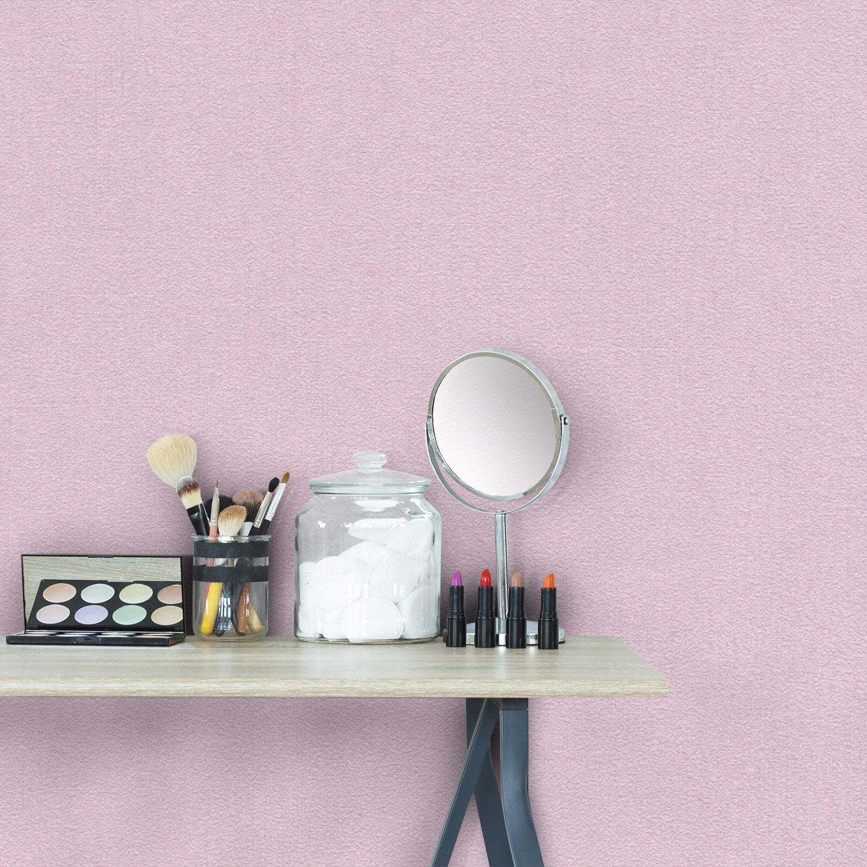 Papier peint vinyle Lisse mat violet fog