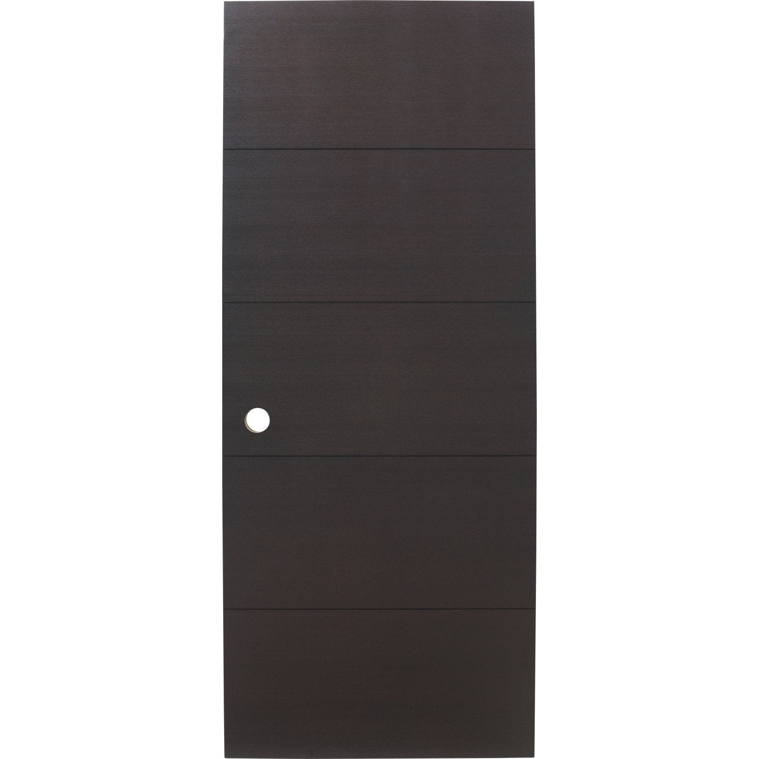 porte coulissante fr ne plaqu marron tokyo artens 204 x 83 cm leroy merlin. Black Bedroom Furniture Sets. Home Design Ideas