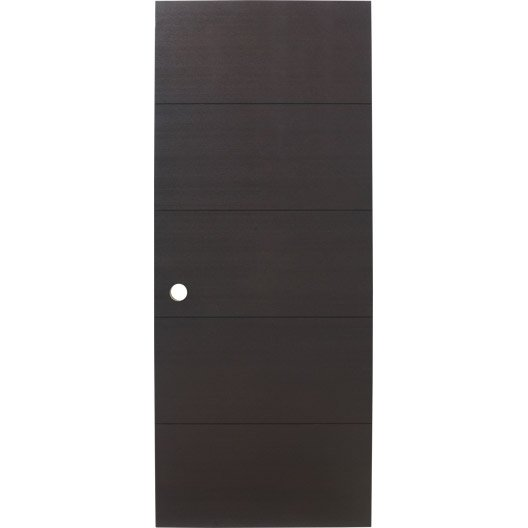 porte coulissante fr ne plaqu marron tokyo artens 204 x. Black Bedroom Furniture Sets. Home Design Ideas