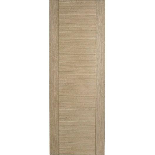 porte coulissante ch ne plaqu marron helsinki artens 204 x 83 cm leroy merlin. Black Bedroom Furniture Sets. Home Design Ideas