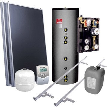 chauffe eau solaire et accessoires production d 39 nergie et de chauffage renouvelable leroy. Black Bedroom Furniture Sets. Home Design Ideas