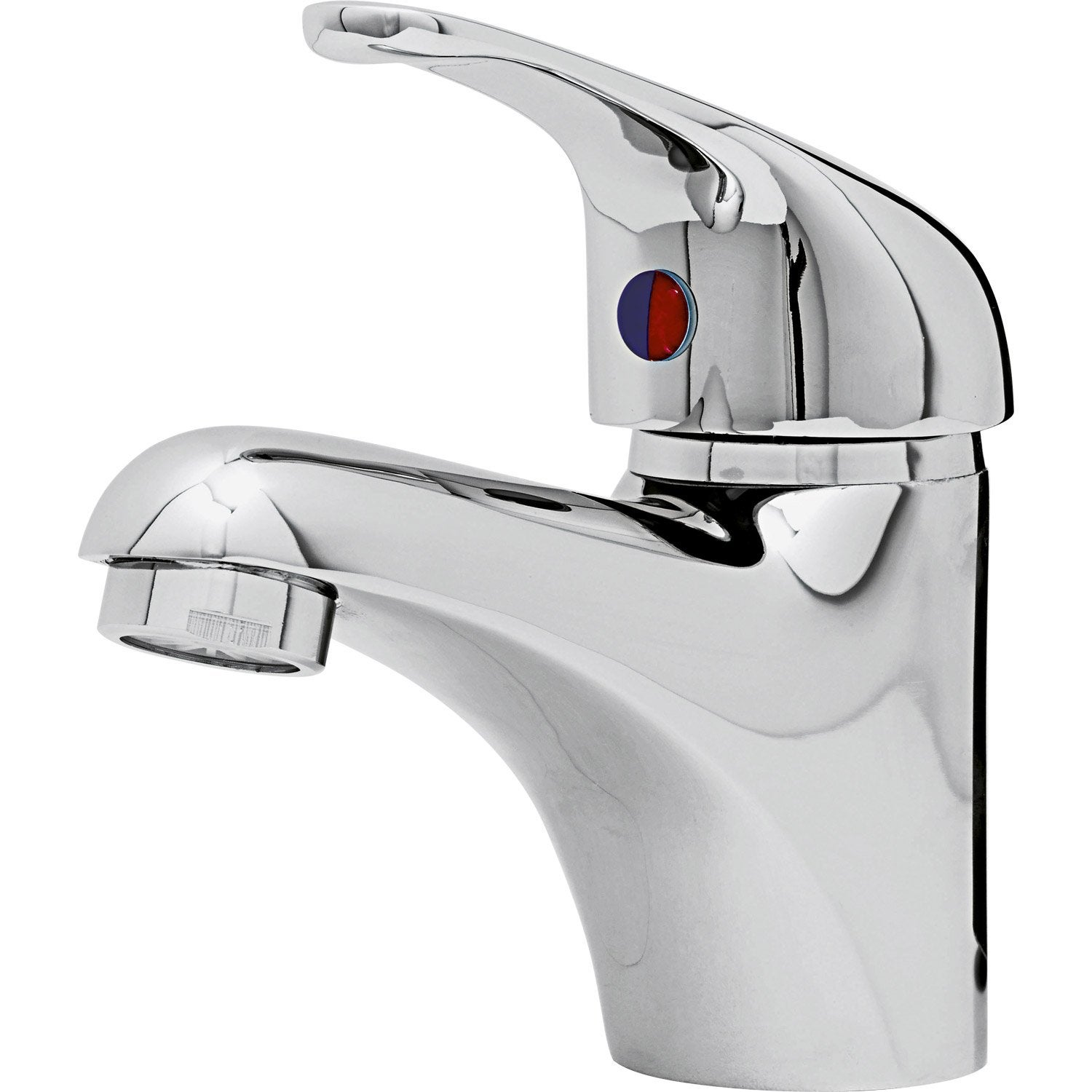 Mitigeur De Lavabo Chrome Brillant