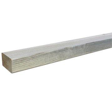 Lambourde Pour terrasse bois résineux Kuhmo, vert , L.2.4 m x l.7 cm x Ep.47 mm