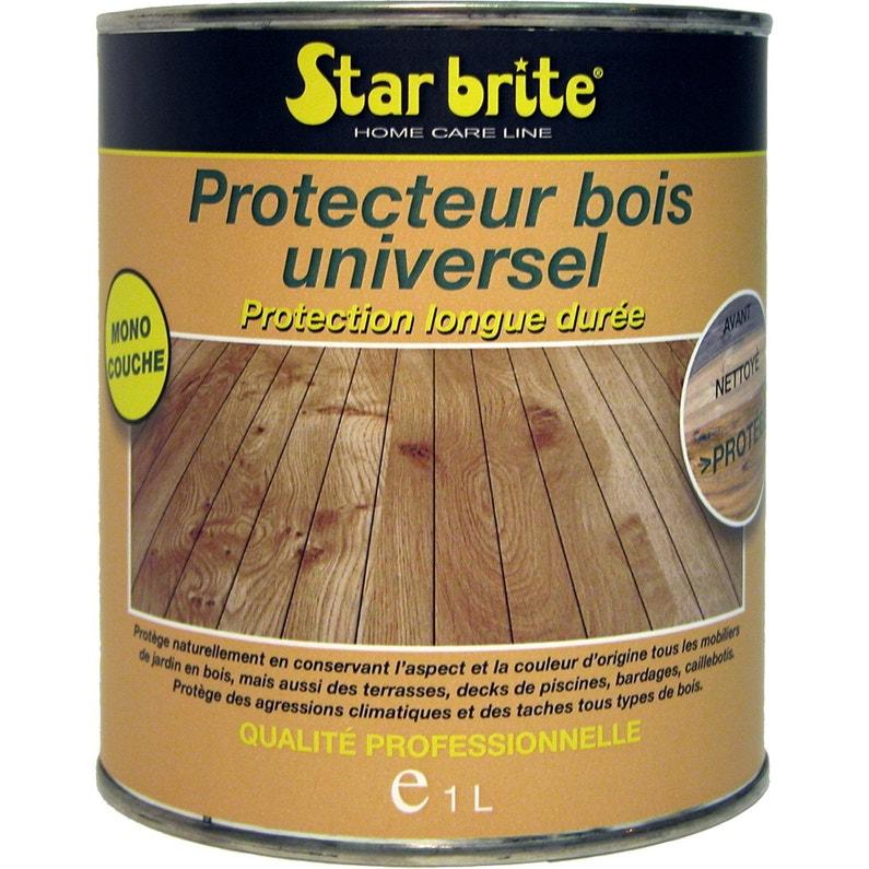 Protecteur Pour Bois Universel Ton Clair 1 L Leroy Merlin