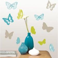 Sticker Feeling bleu 23.5 cm x 67 cm