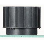 Rehausse pour plot polypropylène chargé, H.80 mm