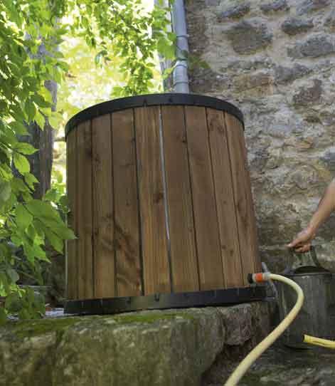 Tout savoir sur la r cup ration d 39 eau de pluie leroy merlin - Recuperer l eau de pluie ...