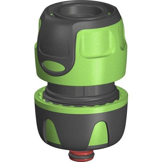 raccord automatique aquastop 20 27 mm geolia leroy merlin. Black Bedroom Furniture Sets. Home Design Ideas