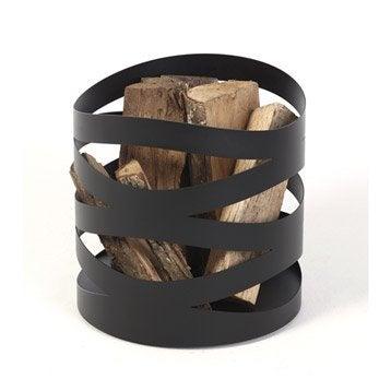 Panier b ches sac b ches range b ches range - Rangement buche de bois interieur ...