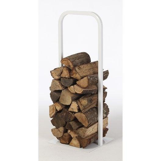 rangement pour bois acier blanc atelier dix neuf cima cm leroy merlin. Black Bedroom Furniture Sets. Home Design Ideas