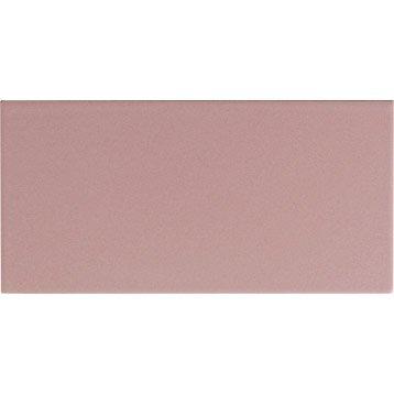 Faïence mur rose blush, Astuce l.10 x L.20 cm