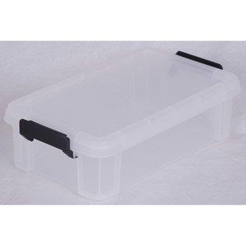 Boîte Multi box plastique , l.21.4 x P.36.5 x H.10.5 cm