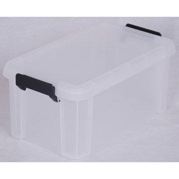 Boîte Multi box plastique , l.21.4 x P.36.5 x H.16.5 cm