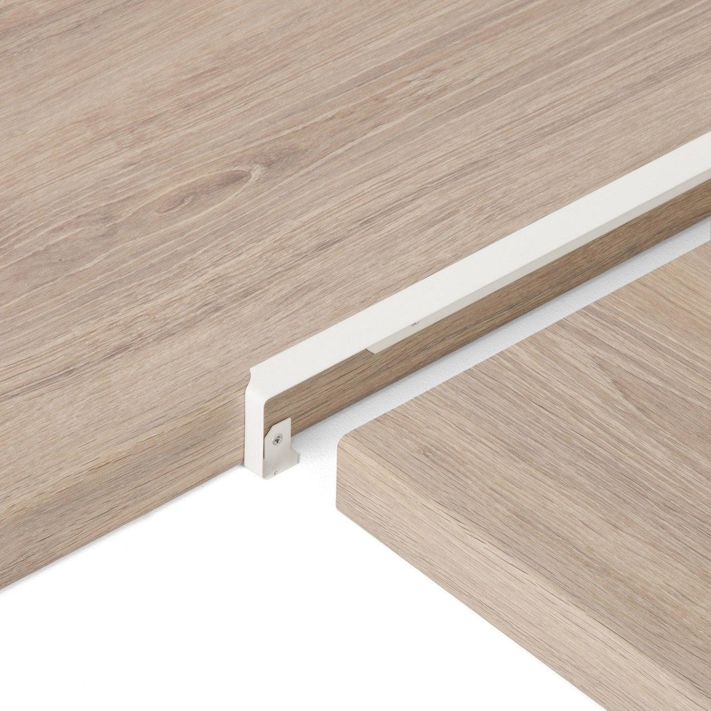 Profil De Jonction D Angle Blanc L 67 X L 2 Cm Leroy Merlin
