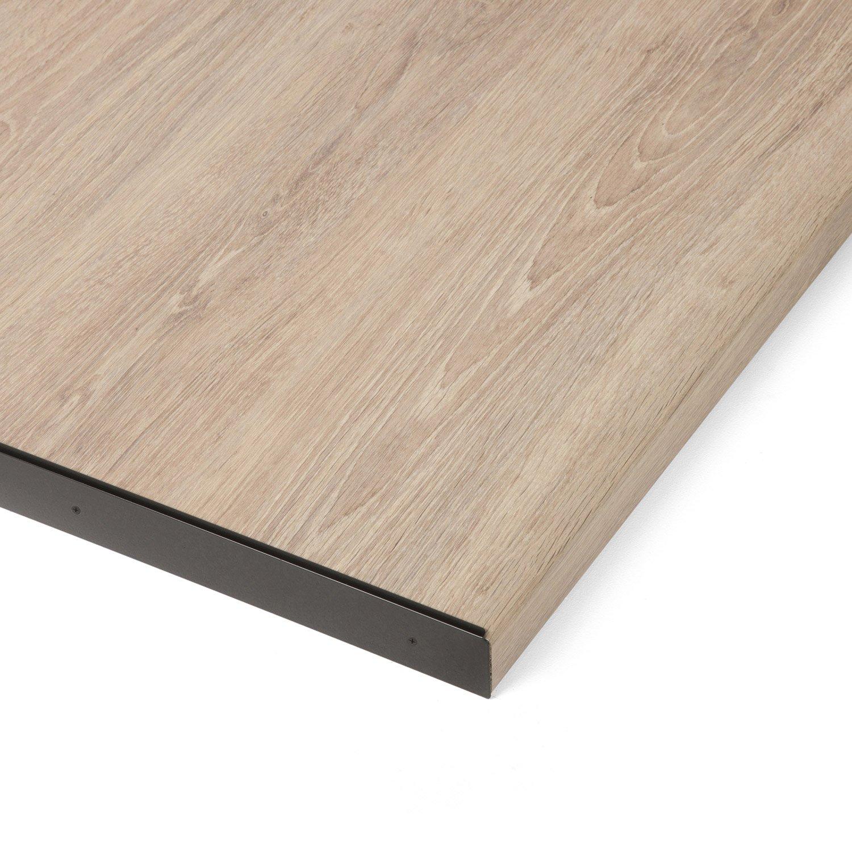 profil de finition noir x l 3 8 cm leroy merlin. Black Bedroom Furniture Sets. Home Design Ideas