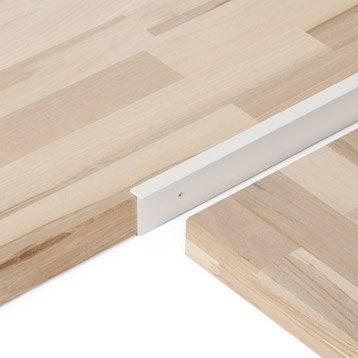 profil de finition plan snack et support pour plan de travail leroy merlin. Black Bedroom Furniture Sets. Home Design Ideas
