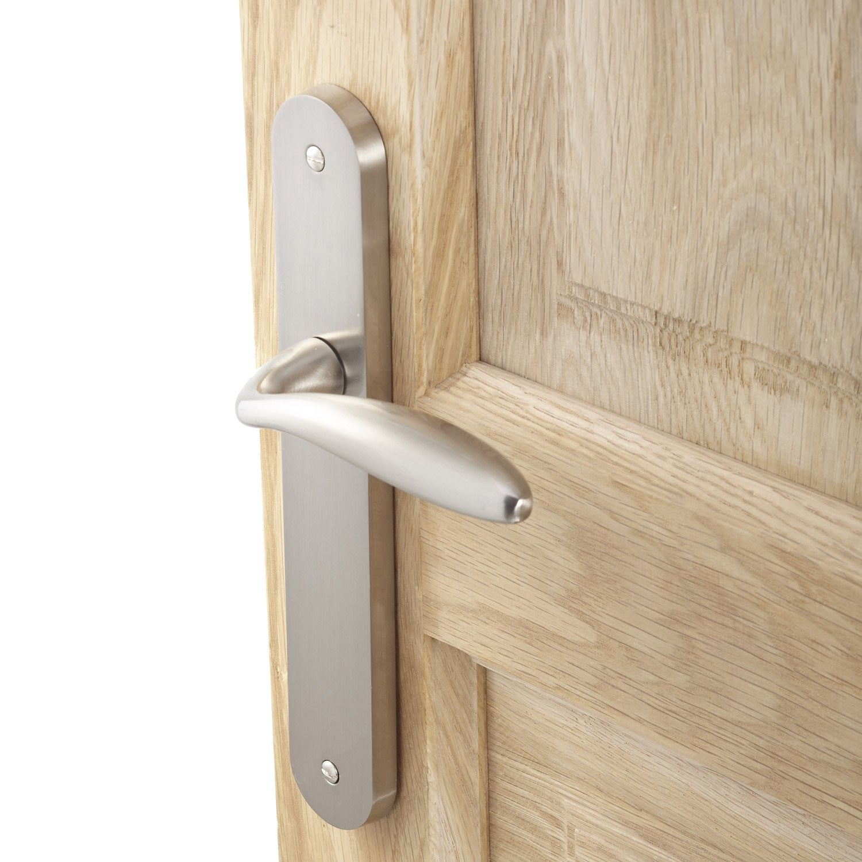 2 poign es de porte agathe sans trou inspire zamak 195 mm leroy merlin. Black Bedroom Furniture Sets. Home Design Ideas