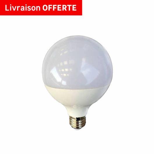 Carrelage Salle De Bain Bleu Et Gris ~ ampoule globe led 15w 1521lm quiv 100w e27 4000k 150 lexman