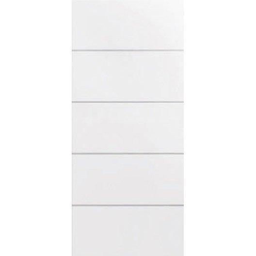 porte coulissante naples 204 x 73 cm leroy merlin. Black Bedroom Furniture Sets. Home Design Ideas