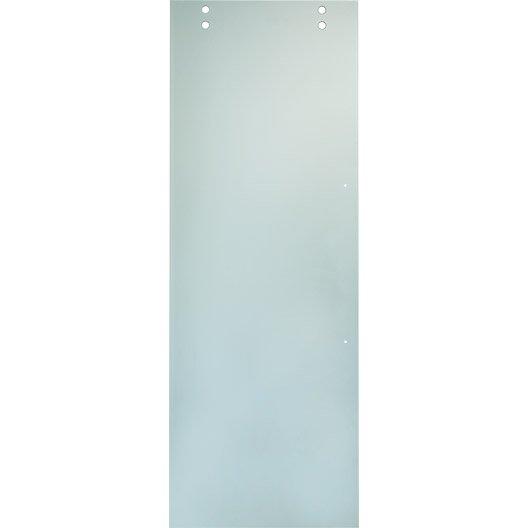 Porte coulissante chicago artens verre 204 x 73 cm - Leroy merlin porte coulissante verre ...