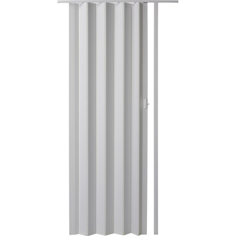 Porte Extensible Blanc 205 X 85 Cm Pais D Une Lame 6 Mm Leroy