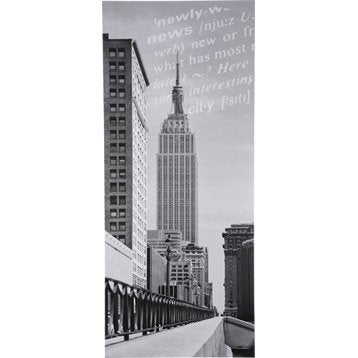 poster de porte new york empire state building 92 x 202 cm. Black Bedroom Furniture Sets. Home Design Ideas