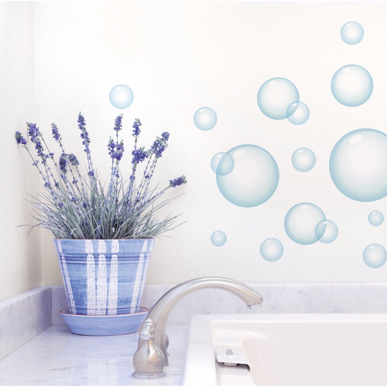 Sticker Bulles de savon 48 cm x 68 cm | Leroy Merlin