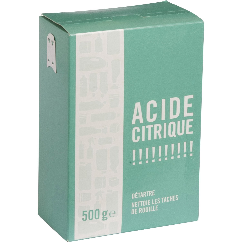 Acide Citrique 500g Leroy Merlin