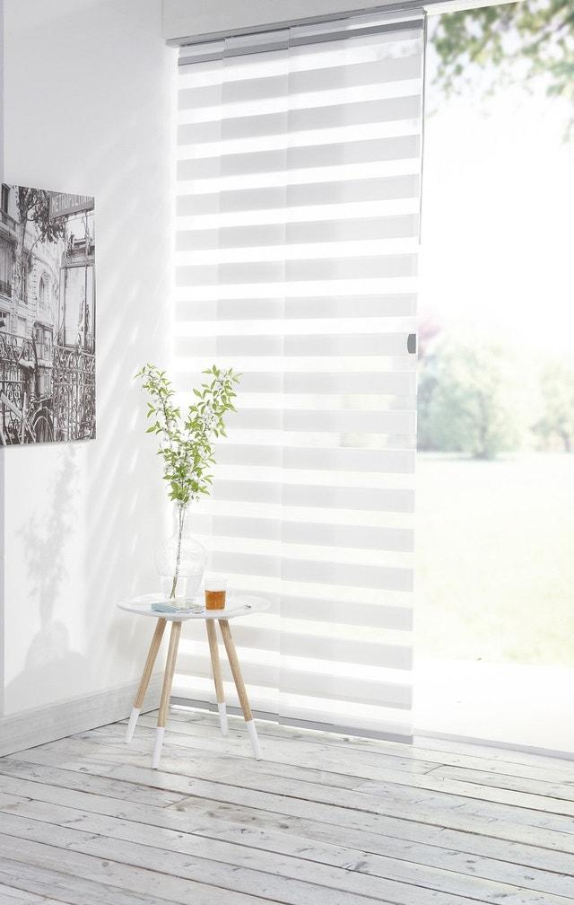 panneau japonais inspire blanc x cm leroy merlin. Black Bedroom Furniture Sets. Home Design Ideas