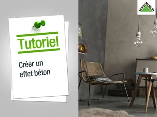 Comment restaurer un meuble leroy merlin - Peinture beton cire leroy merlin ...