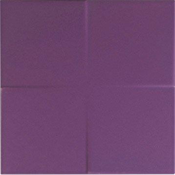 Décor Astuce violet tulipe n°3, l.20 x L.20 cm