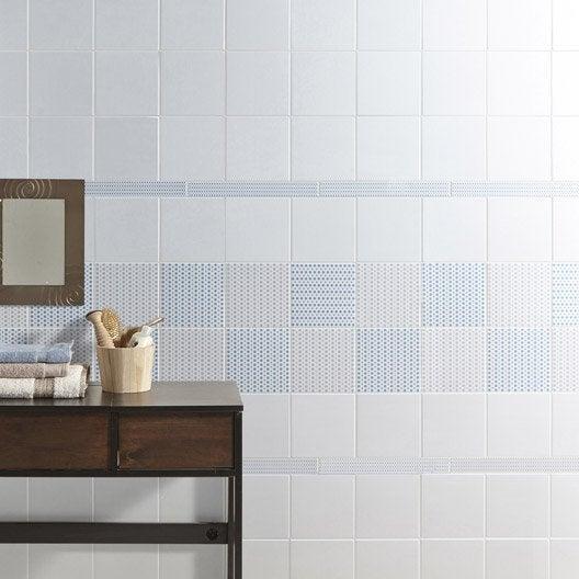 d cor astuce dotty bleu baltique n 3 x cm leroy merlin. Black Bedroom Furniture Sets. Home Design Ideas
