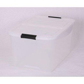 Boîte Top box plastique , l.39 x P.57.5 x H.30.5 cm