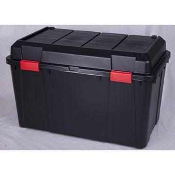 Malle Heavy box plastique , l.46 x P.78 x H.49 cm
