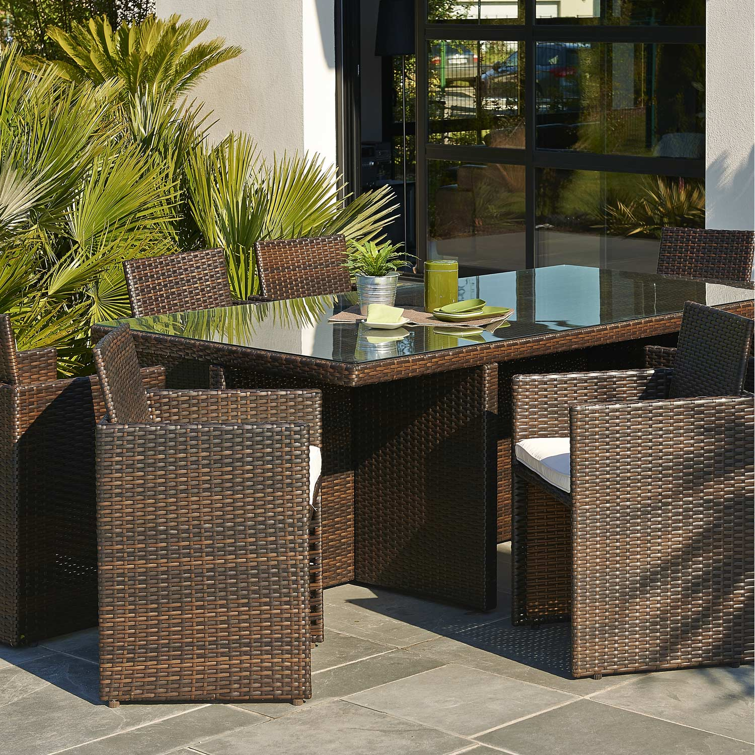 Table De Jardin Chaise Encastrable. Awesome Balcon Chaises Auchan ...