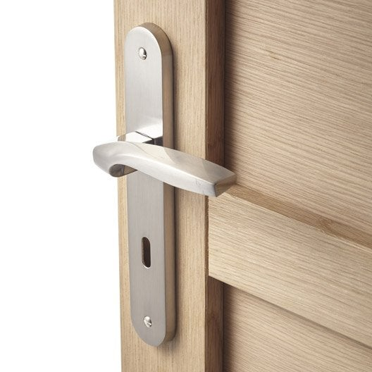 Poign e de porte int rieure poign e chambre wc salle for Poignee de securite salle de bain