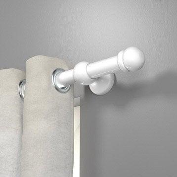 Tringle à rideau blanc brillant 150 cm INSPIRE