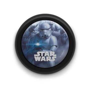 Veilleuse, led intégrée Star wars PHILIPS, 1X0.3 W-3.2 V W