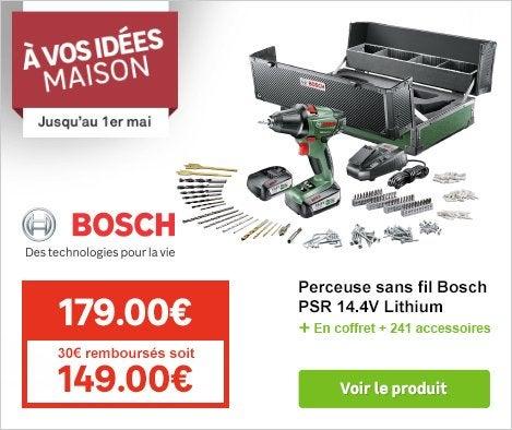 OP Festival Perceuse sans fil Bosch 73073791