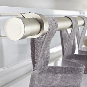 tringle rideaux barre rail et c ble leroy merlin. Black Bedroom Furniture Sets. Home Design Ideas