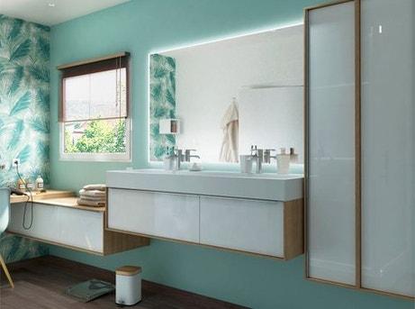 mon projet meuble de salle de bains en 5 étapes | leroy merlin