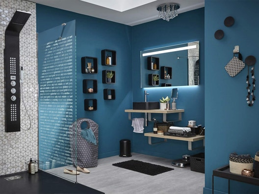 id es et projets d co am nagement salle de bains leroy merlin. Black Bedroom Furniture Sets. Home Design Ideas