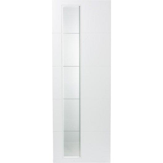 porte coulissante rev tu blanc alaska artens 204 x 73 cm. Black Bedroom Furniture Sets. Home Design Ideas