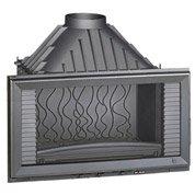 Foyer à bois façade droite INVICTA 6284-44 14 kW