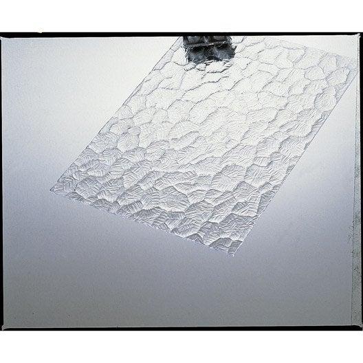 plaque de verre synth tique ecaille polystyr ne 100x50cm. Black Bedroom Furniture Sets. Home Design Ideas