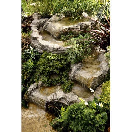 Cascade pour bassin ubbink colorado droit l x l m x cm leroy merlin - Cascade pour bassin ...