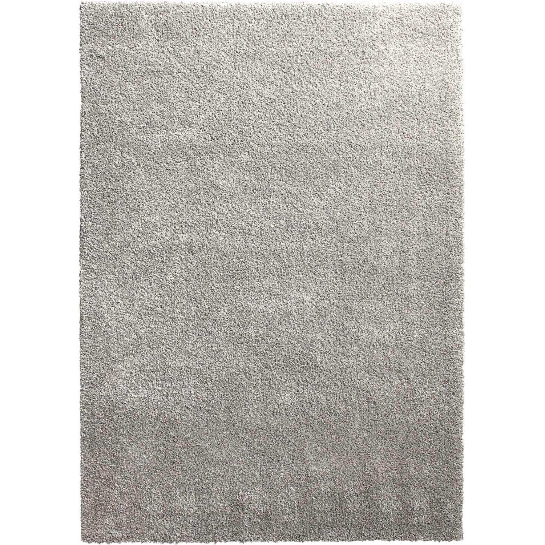 tapis gris shaggy lizzy l200 x l290 cm - Tapis Gris