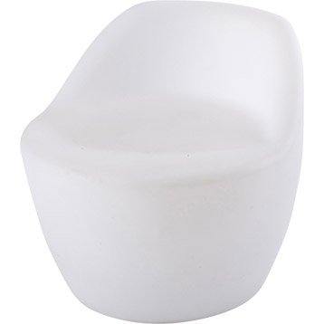 Siège de détente de jardin Led Chair blanc opaque IBIZA